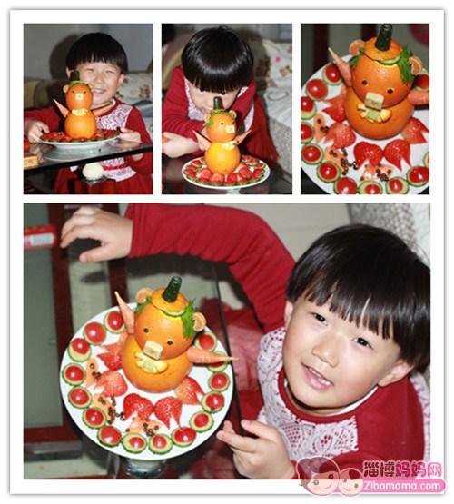 水果蔬菜拼图 小猪宝宝