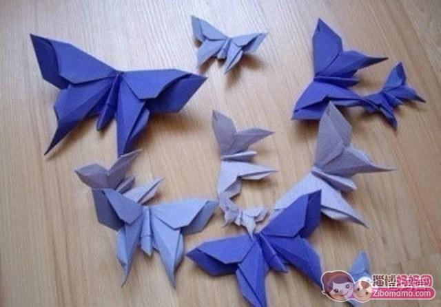 美呆了的蝴蝶的折纸大全